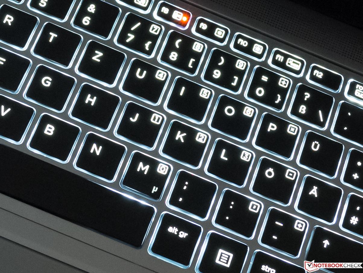 Retroilluminazione tastiera notebook hp hp omen e gaming