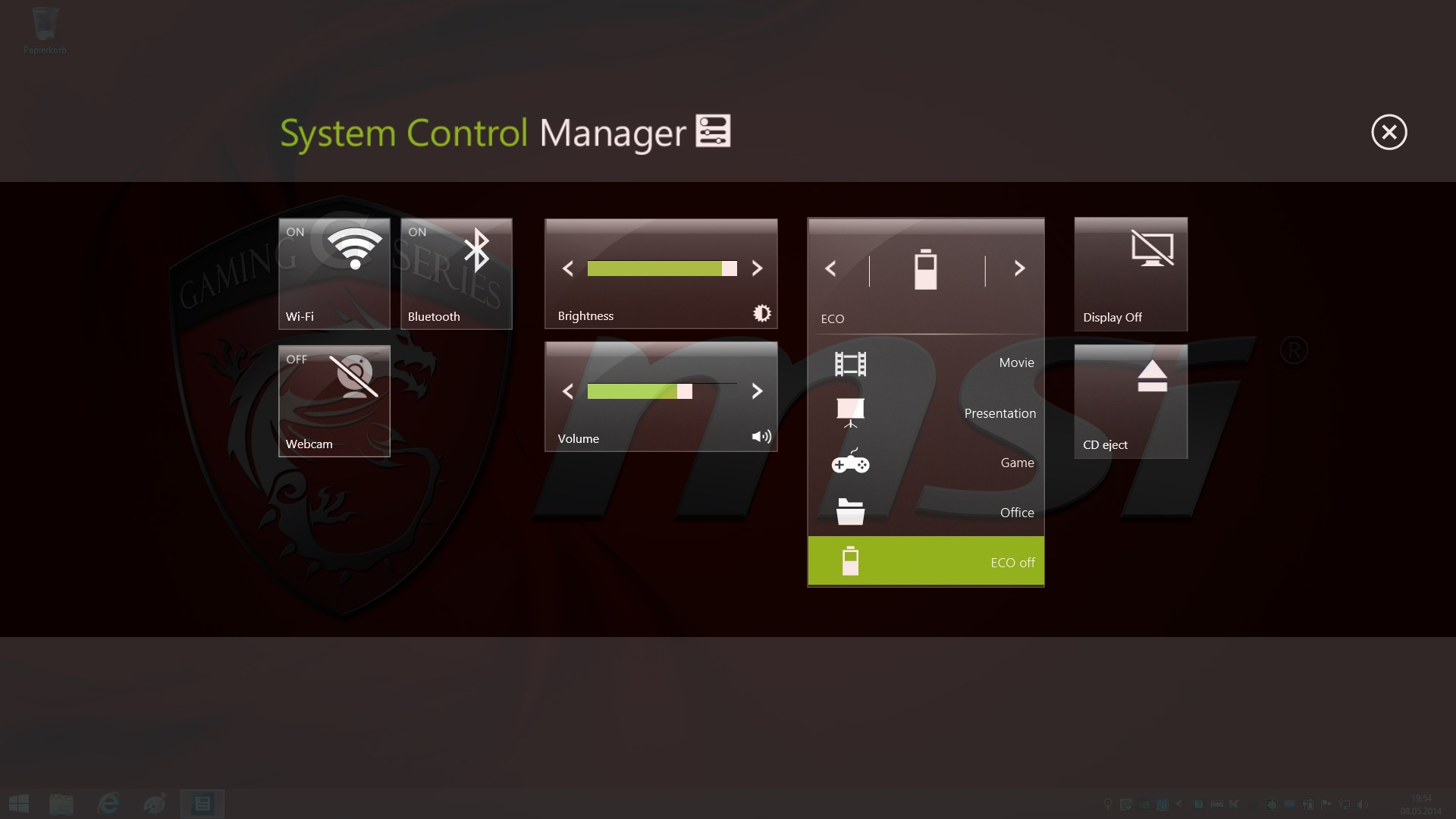 management control system notes