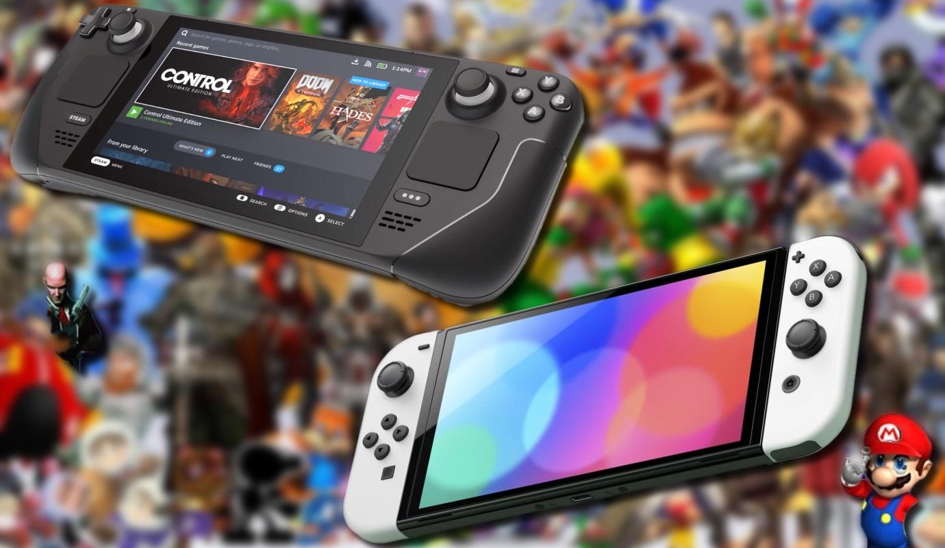 Steam Deck contro Nintendo Switch OLED: Il PC da gioco Zen 2 di Valve è una  bestia da prestazioni, ma c'è ancora molto spazio per un futuro Switch Pro  - NotebookCheck.it News