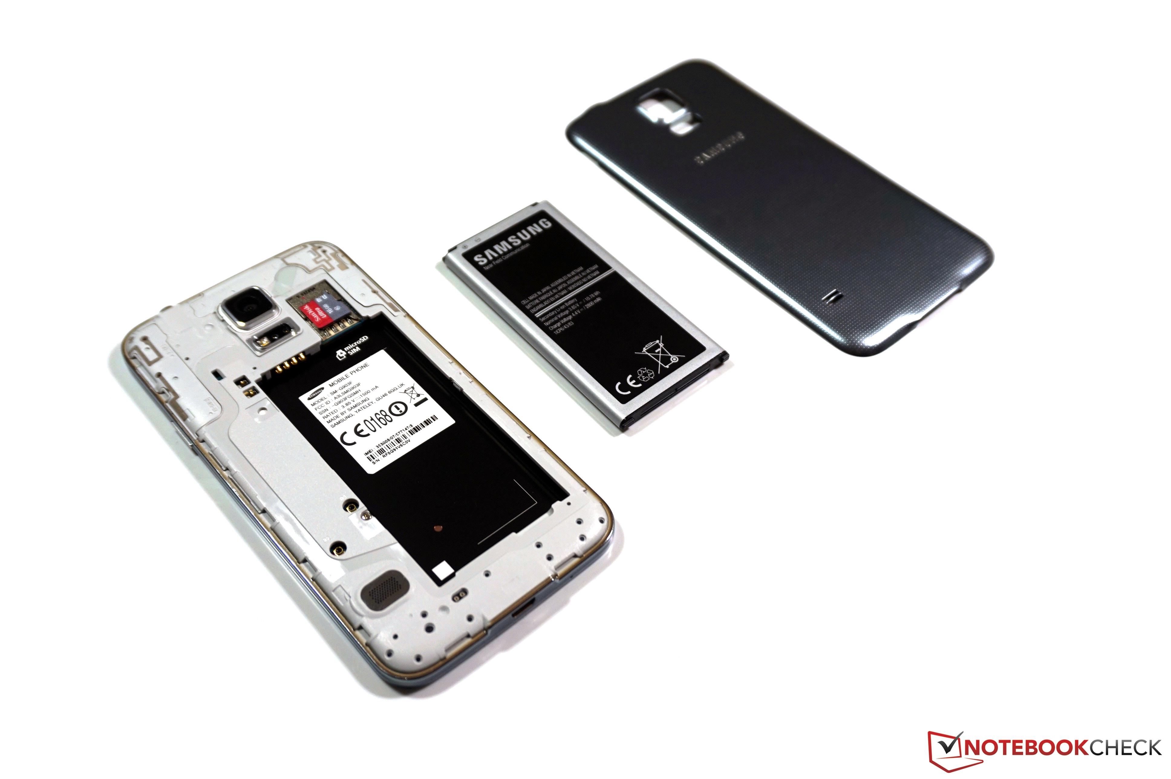 Review Samsung Galaxy S5 Im Test