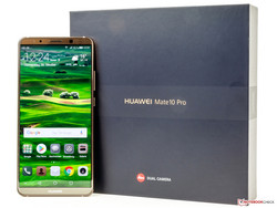 Recensione: Huawei Mate 10 Pro, fornito da Huawei Germany