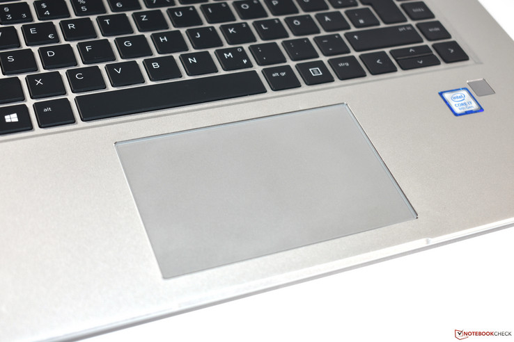 Il touchpad di vetro dell'HP EliteBook 1050 G1