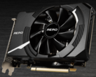 La MSI GeForce RTX 3060Ti Aero ITX. (Immagine: MSI)