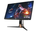 Il monitor da gaming ROG Swift PG259QN con frequenza di aggiornamento di 360 Hz è ora disponibile in Italia