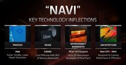 Navi key features (fonte: AMD)