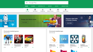 Il Google Play Store è (prevalntemente) disponibile sui Chromebooks.
