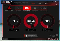 Asus GPU Tweak (Modalità Gaming)