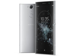 Test del Sony Xperia XA2 Plus. Modello di test fornito da Sony Germany