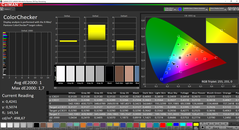 CalMAN ColorChecker calibrata