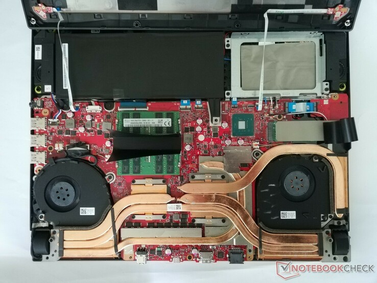 Uno sguardo all'interno del ROG Strix SCAR III
