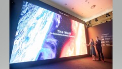 The Wall for Business presentato ad ISE 2020. (Source: Samsung)
