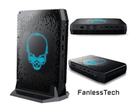 Phantom Canyon NUC 11 Extreme sarà disponibile con GTX 1660 Ti (Image Source: FanlessTech)