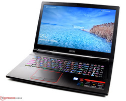 MSI GE73VR 7RF Raider, fornito da MSI Germany.