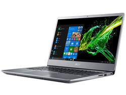 Recensione del Laptop Acer Swift 3 SF314-54-P2RK. Modello di test fornito da Acer Germany.