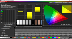 CalMAN ColorChecker (calibrato)