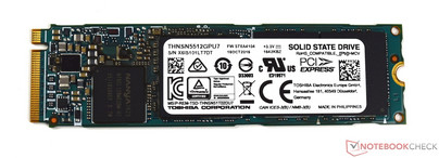 M.2-SSD from Toshiba