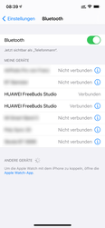 iOS - Gestione dispositivi Bluetooth