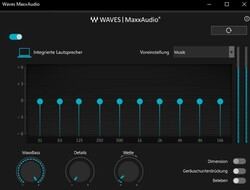 Wave MaxxAudio software