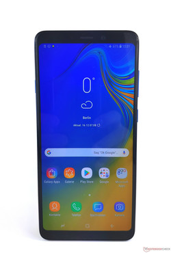 In prova: Samsung Galaxy A9 2018. Dispositivo di test fornito da notebooksbilliger.de.