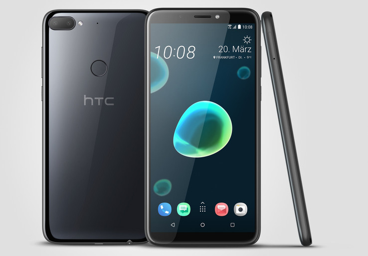 L'HTC Desire 12 Plus è dotato di un display da sei pollici.