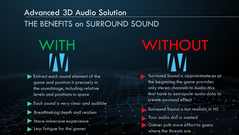 Benefici del Nahimic 3D Audio. (Per gentile concessione: MSI)