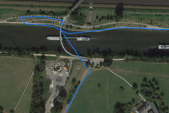 GPS Nomu S30: riverbank