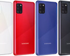 Ecco le colorazioni disponibili per Galaxy A31 (Image Source: GSMArena)