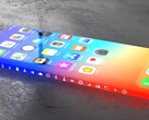 A popular fan-made concept video for the Apple iPhone 13 featured a wraparound display. (Image source: You Tech)