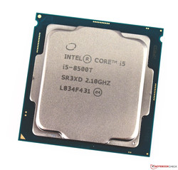 Processore Desktop Intel Core i5-8500T. Dispositivo di test gentilmente fornito da caseking.de.