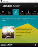 Software audio Dolby