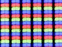 Sub-pixel array: Distorsione causata dal rivestimento opaco