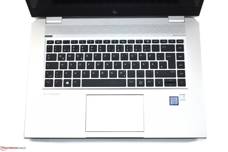 La tastiera dell'HP EliteBook 1050 G1