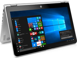 In review: HP Pavilion x360 15-bk102ng. Test model courtesy of Cyberport.de