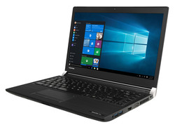 In review: Toshiba Satellite Pro A30T-C-111. Test model courtesy of Toshiba Germany.