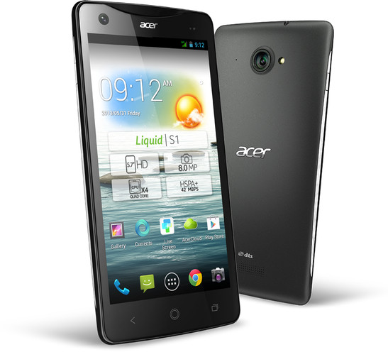 In Preview: Acer Liquid S1. Test device courtesy of Acer.