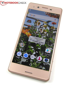 In review: Sony Xperia X. Test model provided by Notebooksbilliger.de