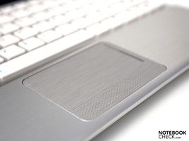 Touchpad con scroll bar