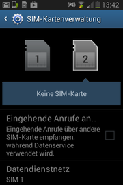 E' facile cambiare SIM card in Android