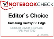 Editor's Choice Maggio 2015: Samsung Galaxy S6 Edge