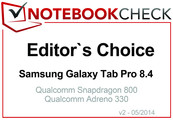 Editor's Choice im April 2014: Samsung Galaxy Tab Pro 8.4