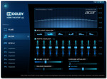 Sound tuning tramite software Dolby