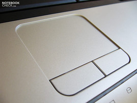 Toshiba Satellite L100-120 Touch pad