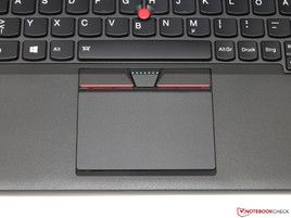 Touchpad e TrackPoint