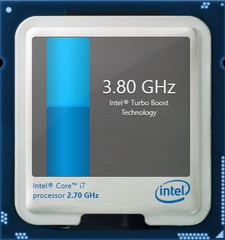 Turbo Boost up to 3.8 GHz for one core