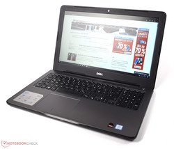 In review: Dell Inspiron 15 5000 5567-1753. Test model courtesy of Notebooksbilliger.