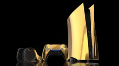 PS5 gold e i suoi accessori