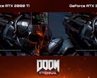 La GeForce RTX 3080 asfalta la GeForce RTX 2080 Ti in 4K con Doom Eternal: ecco il video dimostrativo