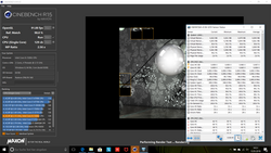 L'IdeaPad 720 si è comportato in modo coerente con Cinebench R15.