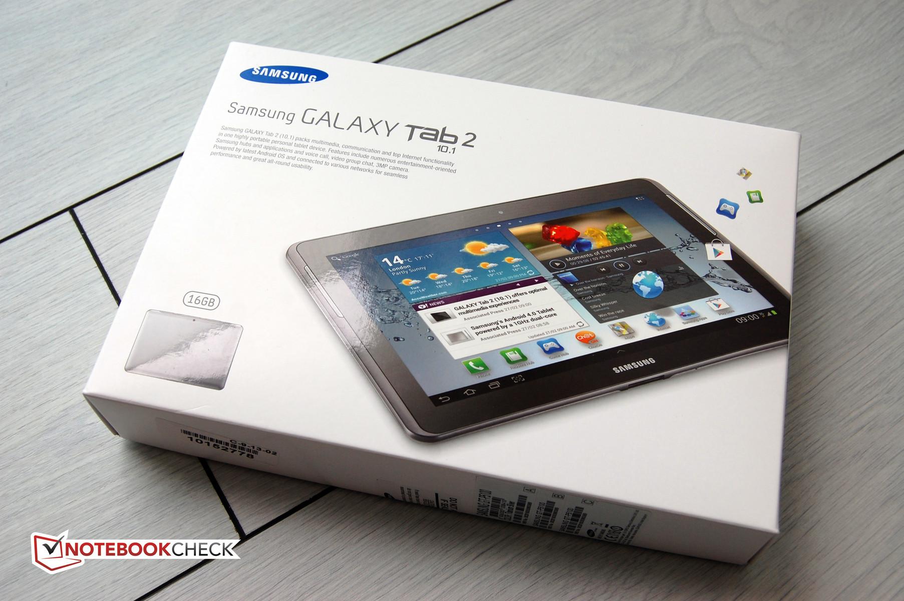 """Recensione del Tablet/MID Samsung Galaxy Tab 2 10.1"""" - Notebookcheck ..."""