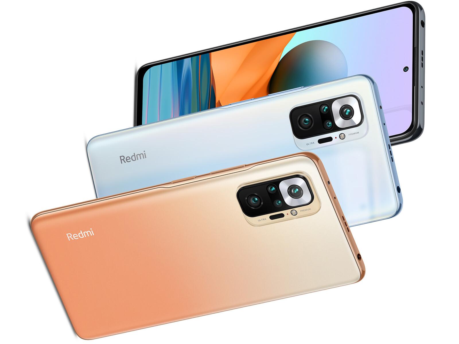 Xiaomi Redmi Note 10 Pro - Notebookcheck.it
